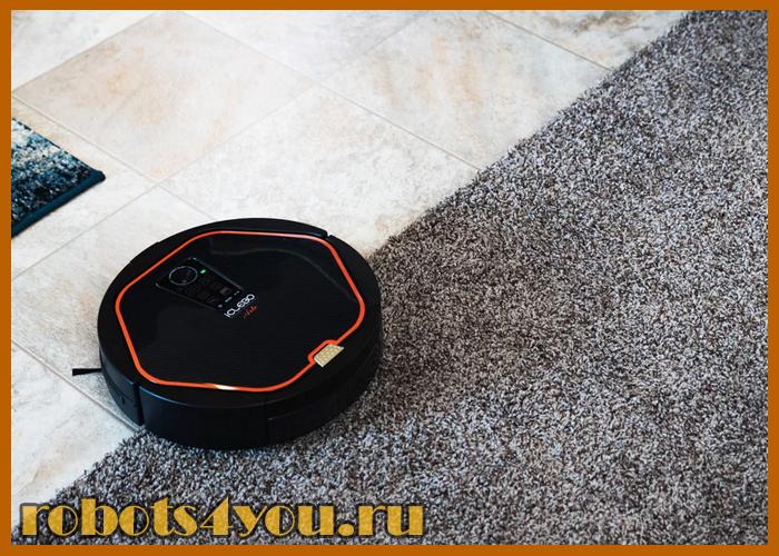 робот пылесос iclebo arte carbon